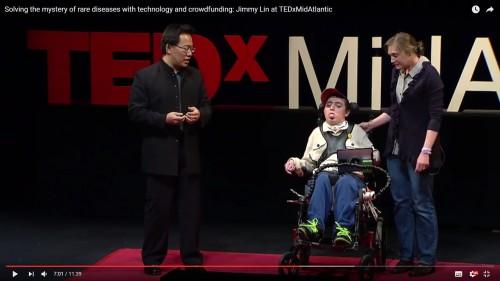 미국 RG의 설립자인 지미 린 박사의 TED 강연.  - 유튜브 캡처 제공